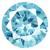 Cubic Zirconia Aquamarine Gems