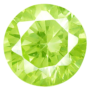 Cubic Zirconia Apple Green Gems
