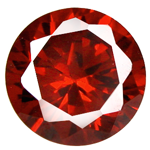 Cubic Zirconia Red Garnet Gems