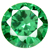 Cubic Zirconia Green Gems