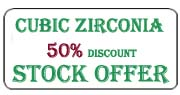 Cubic Zirconia discount Offer
