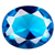 Glass Aquamarine Gems