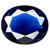 Glass Blue Sapphire Gems