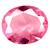 Glass Pink Sapphire Gems