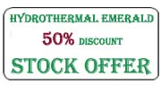 Hydrothermal emerald stock offer