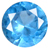 Synthetic Aquamarine Gems