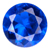 Synthetic Blue Spinel Gems