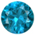 Synthetic Blue Zircon Gems