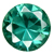 Synthetic Green Gems