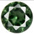 Synthetic Green Tourmaline Gems