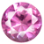 Synthetic Rose Gems
