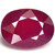 Natural Red Ruby Gems